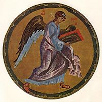 The Angel of Matthew, c.1400, rublev