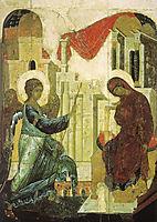 Annunciation, 1405, rublev