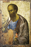 Apostle Paul, c.1410, rublev