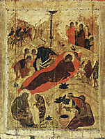 Birth of Christ, c.1405, rublev