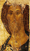 Christ as Saviour, c.1410, rublev