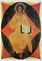 Christ in Majesty, 1408, rublev