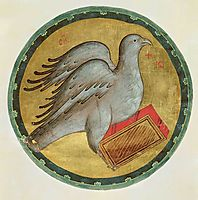 The Eagle of St. John the Evangelist, c.1400, rublev