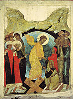 Harrowing of Hell, 1408, rublev