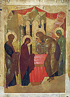 Presentation of Jesus at the Temple, 1408, rublev
