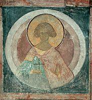 St. Laurus, c.1400, rublev