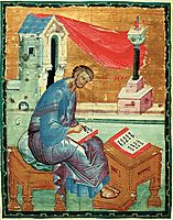 St. Luke the Evangelist, c.1400, rublev
