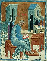St. Matthew the Evangelist, c.1400, rublev