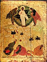 Transfiguration of Jesus, 1405, rublev