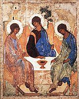 Trinity, c.1410, rublev