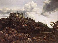Bentheim Castle, 1653, ruisdael