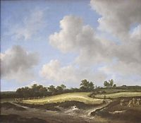 Landscape with a Wheatfield, 1660, ruisdael