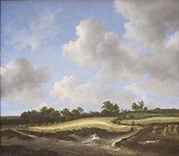 Landscape with a Wheatfield, 1660, ruisdael