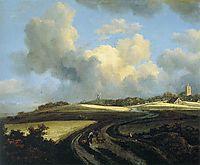 Road through Corn Fields near the Zuider Zee, 1662, ruisdael
