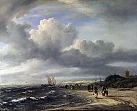 The Shore at Egmond-an-Zee, 1675, ruisdael