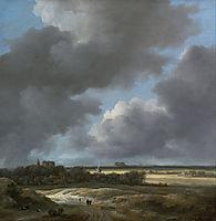View of Alkmaar, 1670, ruisdael