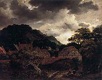 Village at the Wood-s Edge, 1651, ruisdael