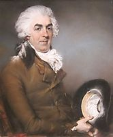Portrait of George de Ligne Gregory, 1793, russell