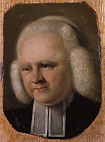 Portrait of George Whitefield, russell