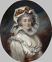 Portrait of a girl in a Bonnet, russell