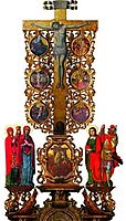 Crucifixtion with scenes of Christ-s Passion, 1699, rutkovych