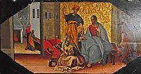 Christ in the House of Matha and Mary, 1699, rutkovych