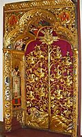 Royal Gates of the Zhovkva iconostasis, 1699, rutkovych