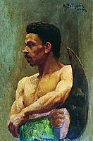 Beginner, 1891, ryabushkin
