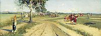 Coming Back from Fair, 1886, ryabushkin