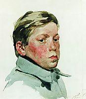 Head of Boy, 1901, ryabushkin