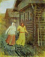 In the Village, ryabushkin
