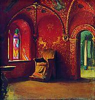 Red House, 1899, ryabushkin