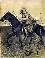Rider, ryabushkin