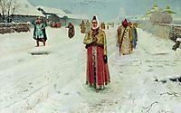 Sunday, 1889, ryabushkin
