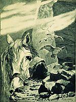 Svyatogor, ryabushkin