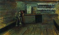 Tavern, 1891, ryabushkin