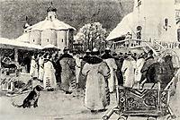 Veche of Novgorod, ryabushkin
