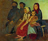 Waiting for newlyweds from the wedding in the Novgorod province, 1891, ryabushkin
