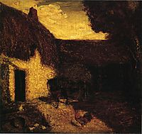 The Barnyard, 1874, ryder