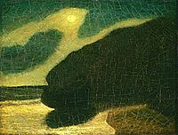 Moonlit Cove, 1885, ryder