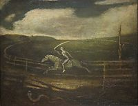 The Race Track (Death on a Pale Horse), 1900, ryder