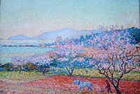 The Almond Flowers, 1918, rysselberghe