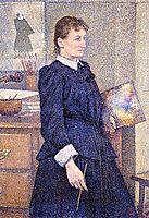 Anna Boch in Her Studio, c.1893, rysselberghe