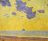 Big Clouds, 1893, rysselberghe