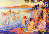 The burning time, 1897, rysselberghe