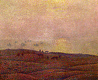 Cows in a Landscape, 1899, rysselberghe