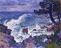 East Wind, 1904, rysselberghe