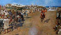 Fantasia Arabe, 1884, rysselberghe