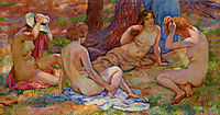 Four Bathers, rysselberghe