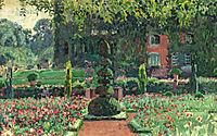 Garden in summer, 1924, rysselberghe